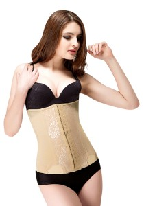 High Waist Slimming Cincher (Beige)