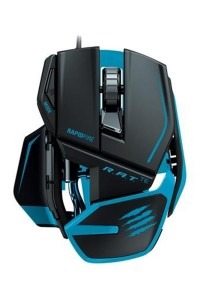 Mad Catz R.A.T. TE Gaming Mouse For PC And Mac (Matte Black)