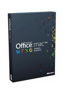 Microsoft Office for Mac 2011 Home & Business - 1 Users