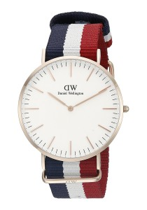 Daniel Wellington Classic Cambridge 40mm - Rose Gold