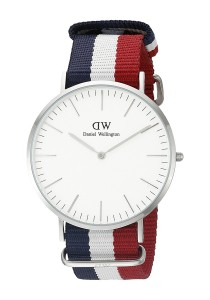 Daniel Wellington Classic Cambridge 40mm - Silver