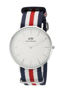Daniel Wellington Classic Canterbury 40mm - Silver