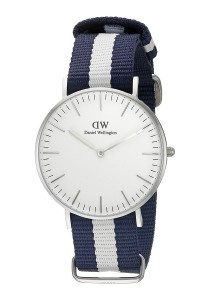 Daniel Wellington Classic Glasgow 36mm - Silver