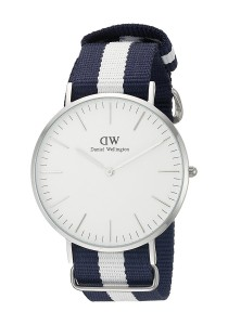 Daniel Wellington Classic Glasgow 40mm - Silver