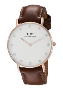 Daniel Wellington Classy St Mawes 34mm - Rose Gold