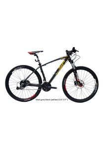 "27.5"" XDS Climber 40 Matt Grey Black (Yellow) (27 Speed) Size S (15"")"