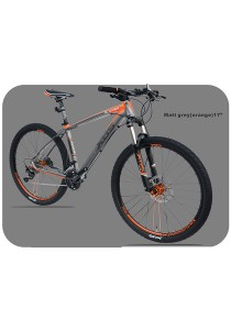 "27.5"" XDS Climber 50 Matt Grey (Orange) (30 Speed) Size M (17"")"