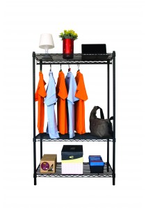 Vettop Storage Hanging Rack - Black