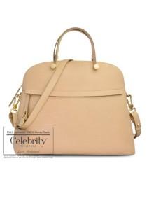 Furla Piper Saffiano Tote Shoulder Bag 770562 (Acero)