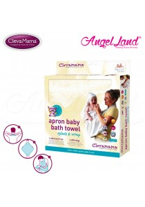 Clevamama Splash and Wrap Baby Bath Towel Cream CM2920