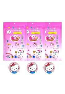 Hello Kitty Color Cartoon Mosquito Repellent Sticker (3 Packs)