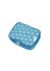 Gin & Jacqie Comel Comel Toiletry Pouch Leaf Blue LM02-LB