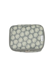 Gin & Jacqie Comel Comel Toiletry Pouch Leaf Grey LM02-LG
