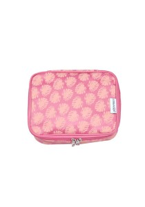 Gin & Jacqie Comel Comel Toiletry Pouch Leaf Pink LM02-LP