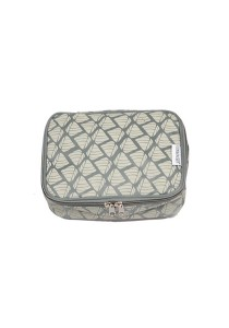 Gin & Jacqie Comel Comel Toiletry Pouch Nasi Grey LM02-NG