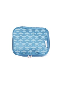 Gin & Jacqie Comel Comel Toiletry Pouch Wau Blue LM02-WB