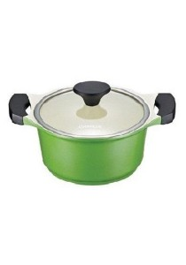 Cookplus Ceramic Casserole 20cm Green