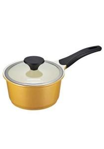 Cookplus Ceramic Sauce Pan 18cm Yellow