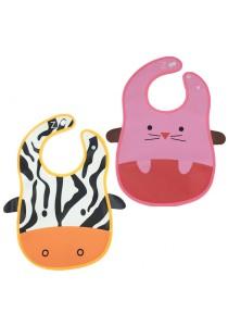 PVC Baby Bib (Wipe-clean Quality) - BB04 (Cow-Mouse)