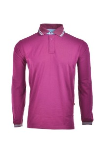 Cotton Polo T Shirt CPL 02 (Purple)
