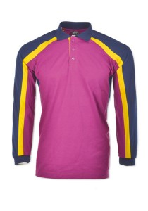 Cotton Polo T Shirt CPL 07 (Purple)