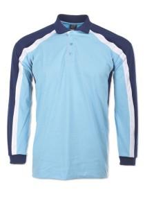Cotton Polo T Shirt CPL 11 (Sea Blue)