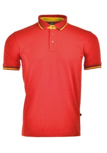 Cotton Polo T Shirt CPS 06 (Red)