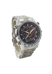 Cps Waterproof Spy Pinhole Dvr Cctv Watch Camera S.Steel