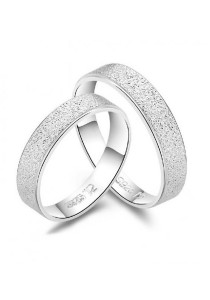 Vivere Rosse Perfect 18K Plated Ring (White Gold) CR0023