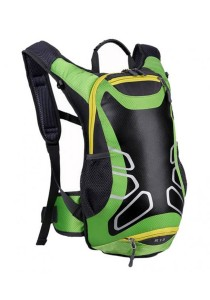 FASHION TEE Unisex Men Women Outdoor Sports Cycling Riding Backpack Durable Bag 12L (Green)
