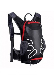 FASHION TEE 12L Unisex Outdoor Sports Cycling Riding Backpack (Black/Red)