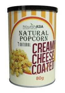 Pack of 6 Nourish Asia I-Natural Cheese Popcorn