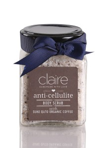 Claire Organics Suke Quto Organic Coffee Anti-Cellulite Body Scrub
