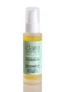 Claire Organics Lavender Rosemary Hair Treatment Oil