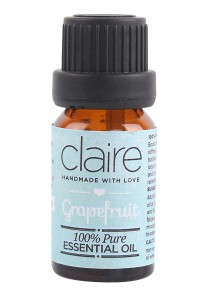 Claire Organics Therapeutic Essential Oil - Grapefruit