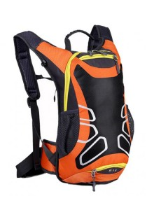 FASHION TEE Unisex Men Women Outdoor Sports Cycling Riding Backpack Durable Bag 12L (Orange)
