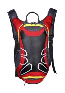 FASHION TEE Unisex Men Women Outdoor Sports Cycling Riding Backpack Durable Bag 12L (Red Wine)