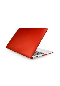 Crystal Case for Macbook Air 13.3 Front and Back Red