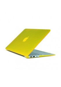 Crystal Case for Macbook Air 13.3 Front & Back Yellow