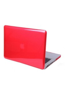 Crystal Cover for Macbook 13.3 Retina Front and Back - Red