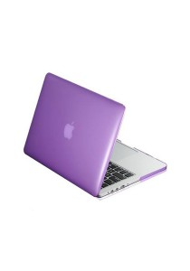 Crystal Cover for Macbook 13.3 Retina Front and Back - Violet