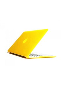 Crystal Cover for Macbook 13.3 Retina Front and Back - Yellow