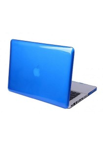 Crystal Cover for Macbook 15.4 Retina Front and Back - Dark Blue