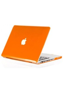 Crystal Cover for Macbook 15.4 Retina Front and Back - Orange