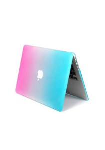 Crystal Cover for Macbook 15.4 Retina Front and Back - Rainbow