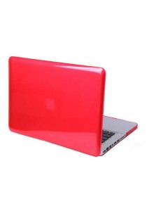 Crystal Cover for Macbook 15.4 Retina Front and Back - Red