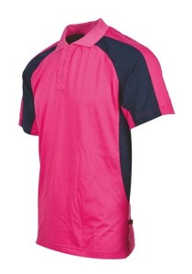 Cotton Polo T Shirt CTS 20 (Magenta)