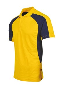Cotton Polo T Shirt CTS 21 (Yellow)