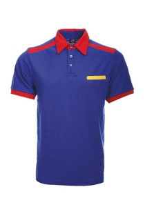 Cotton Polo T Shirt CTS 27 (Royal Blue)