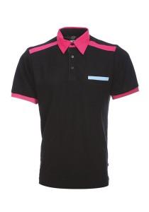 Cotton Polo T Shirt CTS 28 (Black)